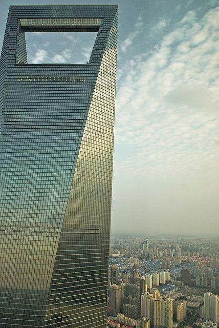 Shanghai World Financial Center Architectuur Torens