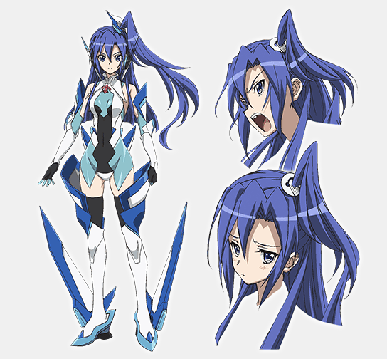 """Updated """"Symphogear"""" Anime Character Designs Character"""