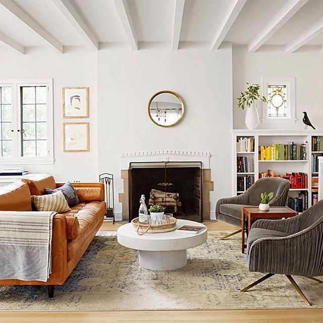 Cozy And Bright Living Room: Cozy And Bright. Kate, @witanddelight_, Giving Us Some