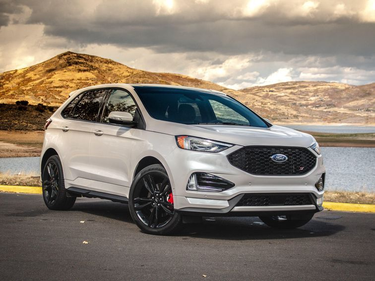 2019 Ford Edge St First Drive Review Potent And Practical Ford