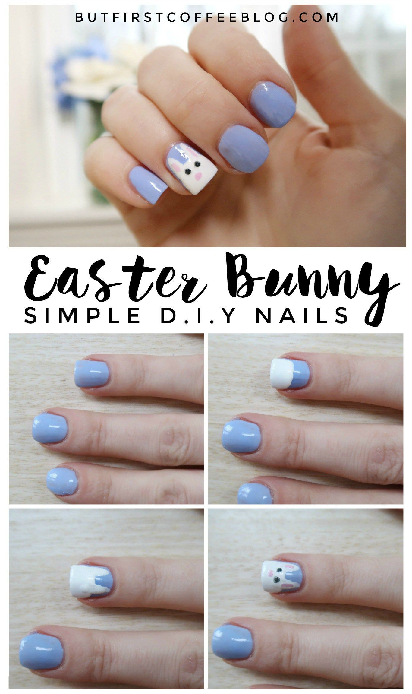 61 Easy And Simple Easter Nail Art Designs Stayglam Easter Nail Art Designs Easter Nail Art Easter Nails