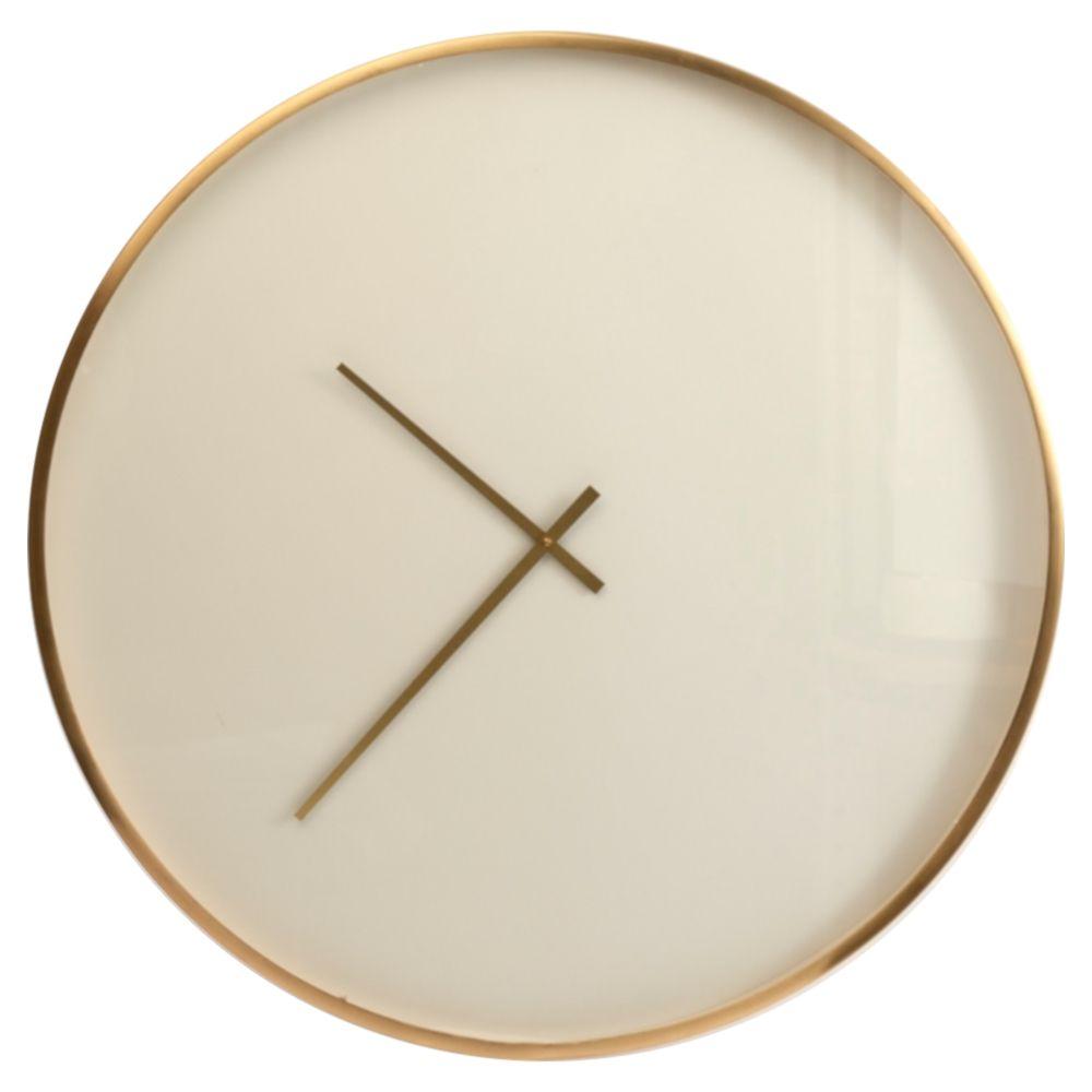Sue Modern Classic Brass Frame Round Wall Clock In 2020 Clock Round Wall Clocks Wall Clock