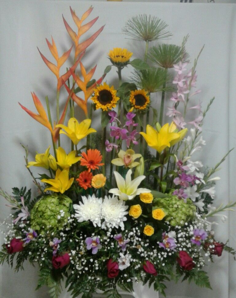 Jardin Tropical Arreglos Florales Arreglos De Flores Y Flores