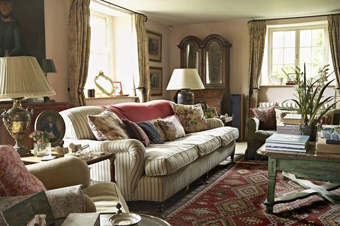 Interni Case Stile Inglese : Una meravigliosa country house nella campagna inglese lounge