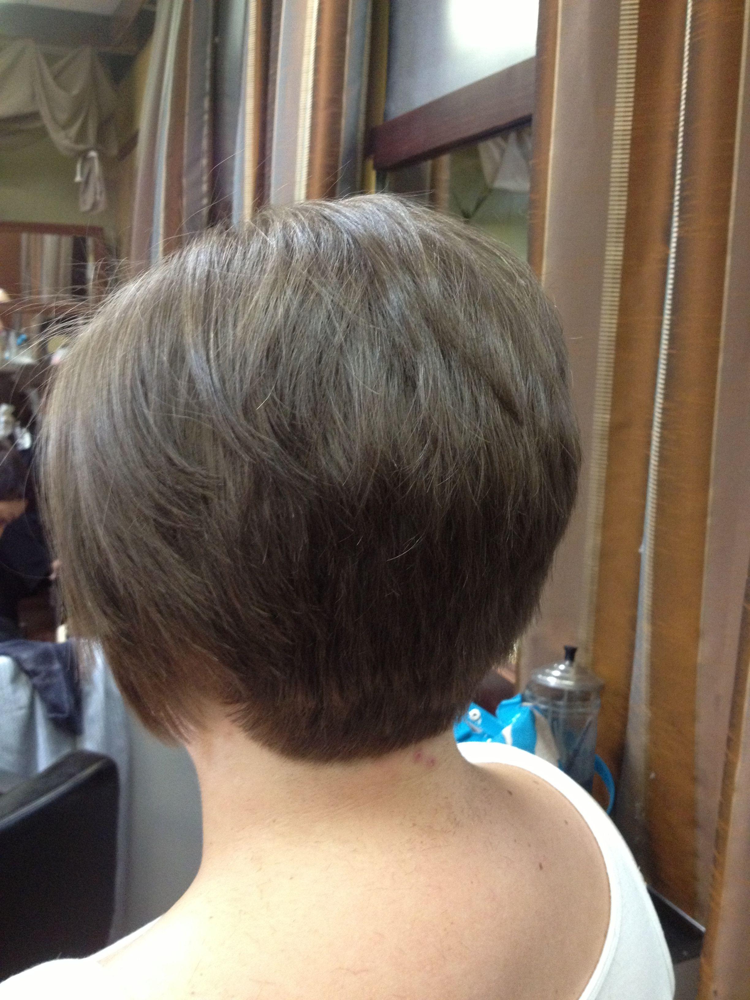 Short hair cut the back view hairdos pinterest shorter hair
