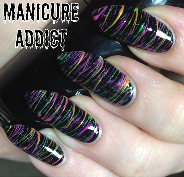 Manicure Addict Spun Sugar Nails Nail Ideas Pinterest Spin