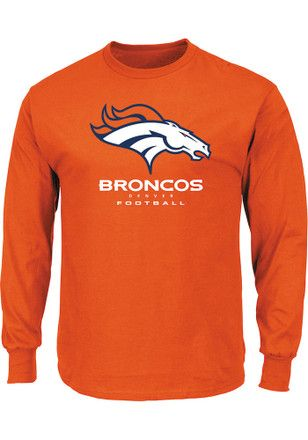 lowest price 006c7 ed5ce Denver Broncos Mens Orange Critical Victory III Tee | NFL ...
