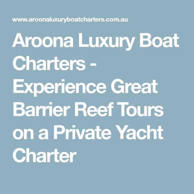 Aroona Luxury Boat Charters