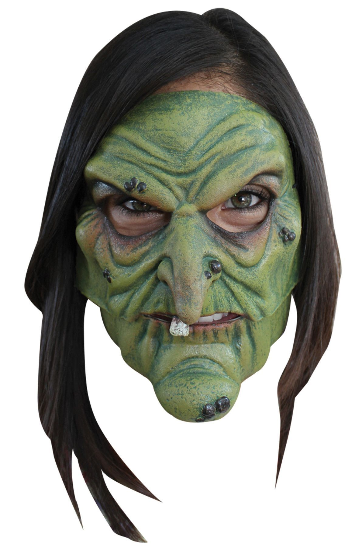 Witch Mask Halloween Costume Mask Witch Face Vintage Halloween Costume