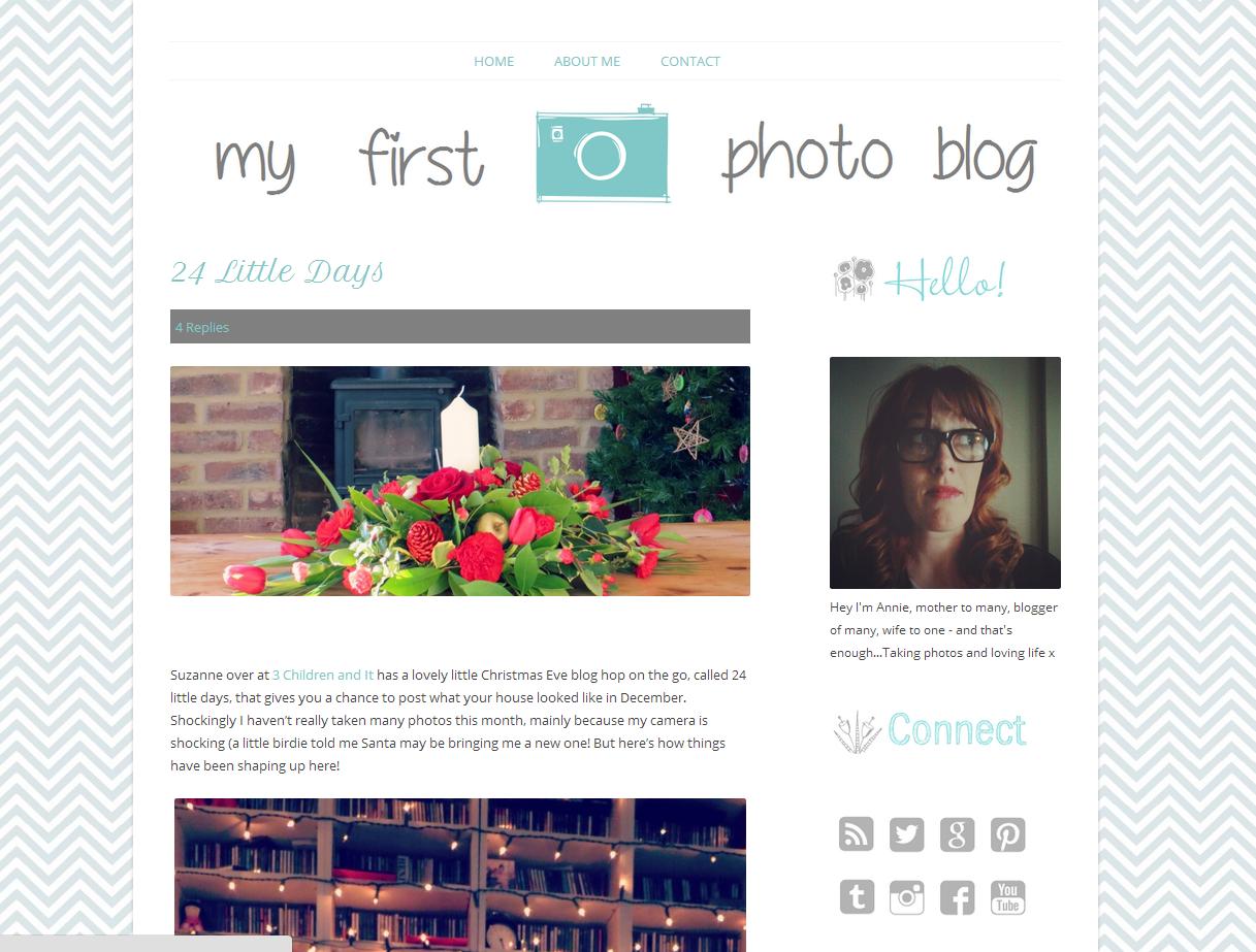 Free Wordpress Twenty Twelve Responsive theme customisation #photoblog - step by step walkthrough
