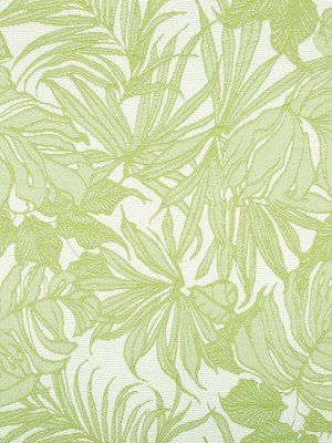 Lime Green Upholstery Fabric Modern Green Floral Indoor Outdoor