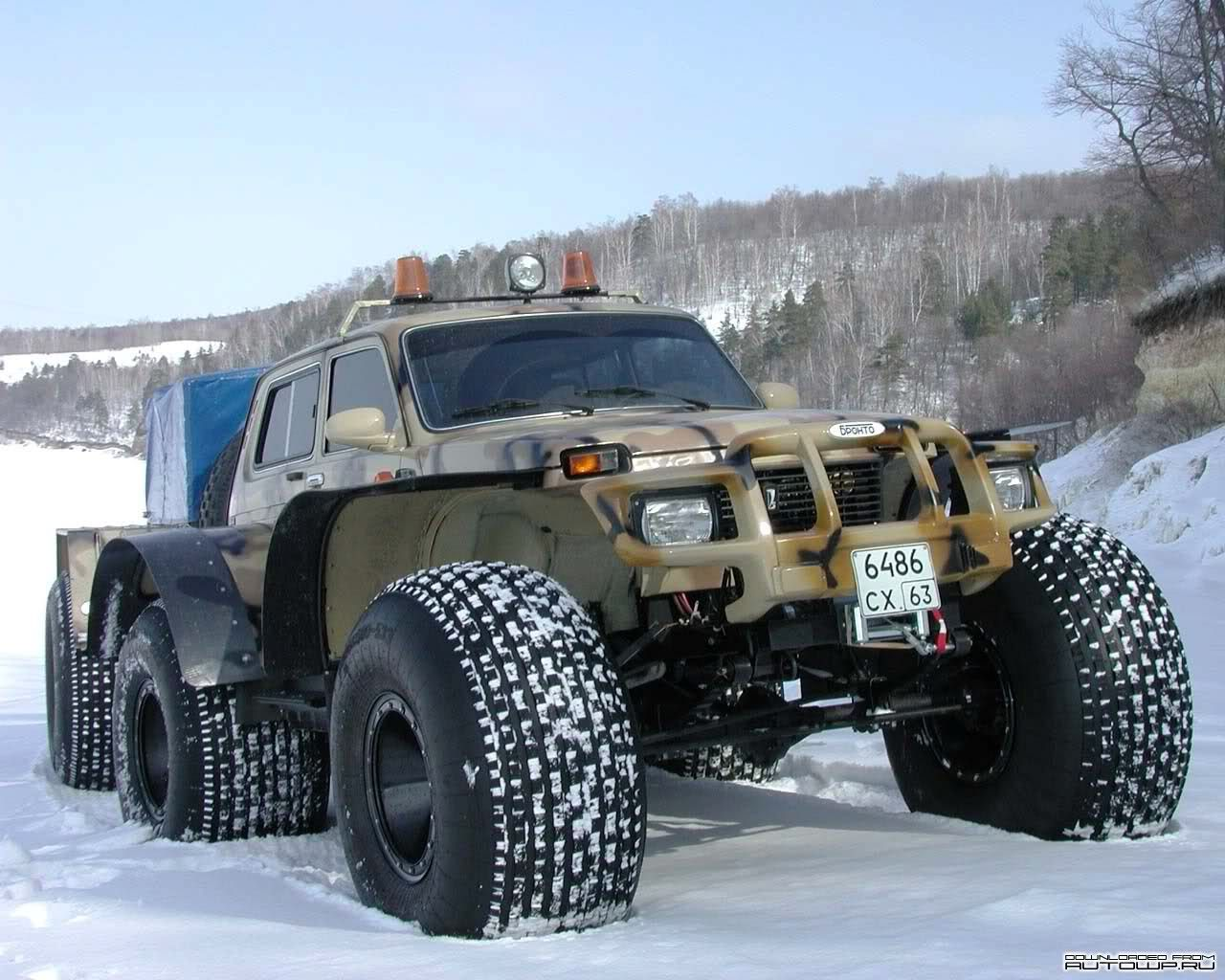 Extremely Modified Lada Niva Offroad Vehicles Vehicles Offroad