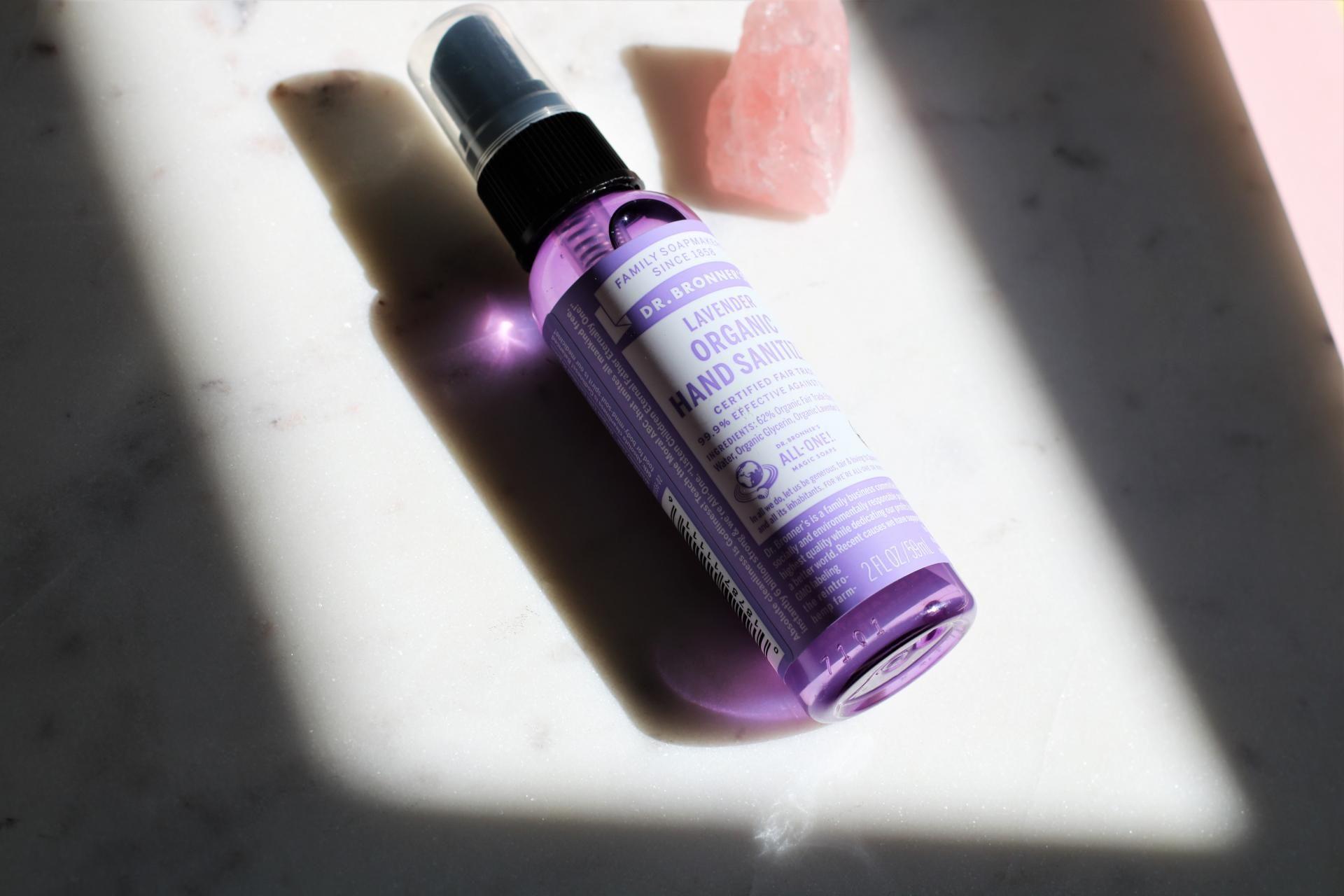 Review Dr Bronner S Lavender Organic Hand Sanitiser Hand