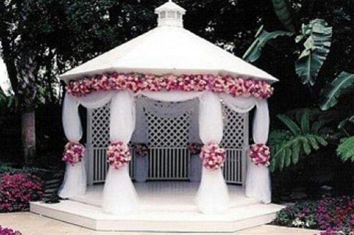 Pergola Wedding Decoration Ideas Gazebo Decor Outdoor