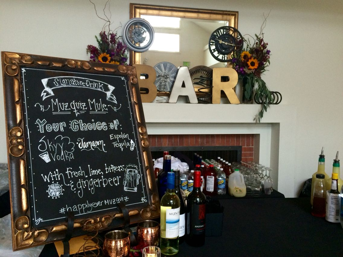 Specialty drinks make your big day more special!