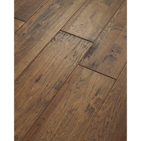 Shaw 8 In W Prefinished Hickory Engineered Hardwood Flooring Castel