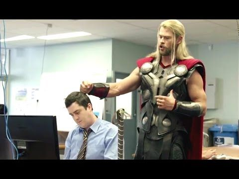 What Thor Was Doing During Captain America: Civil War (Comic-Con 2016) T...