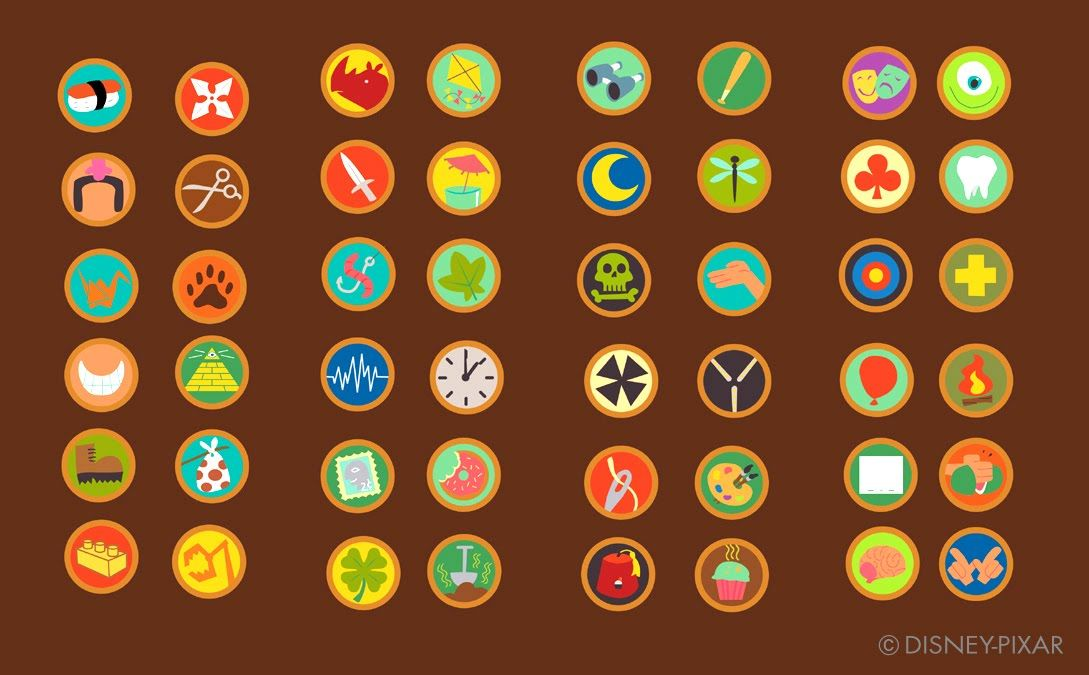 7f118191b Up | Up. | Russell up costume, Scout badges, Badge