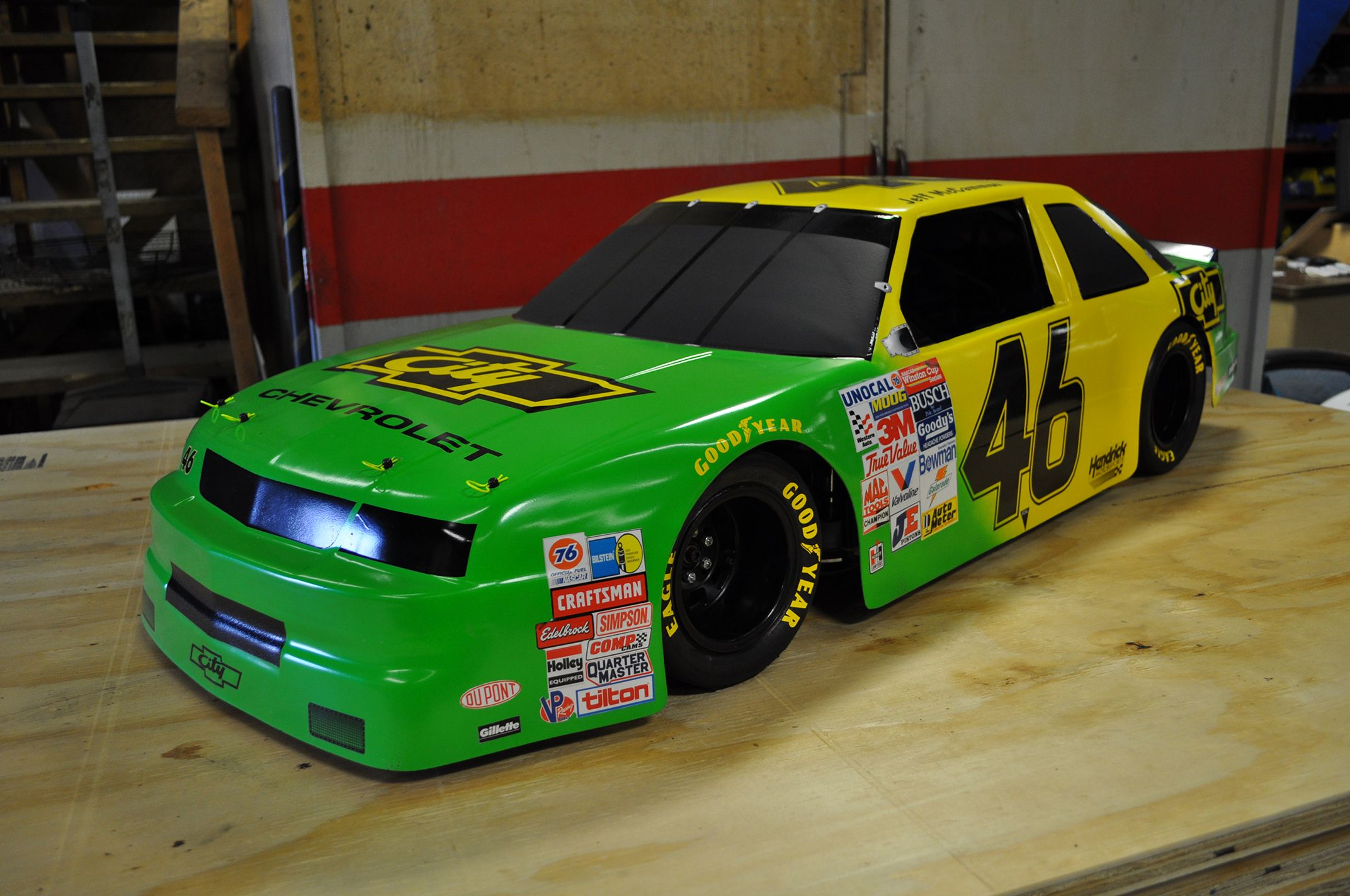 I Have This Same Body From The Early 90s Days Of Thunder Lumina