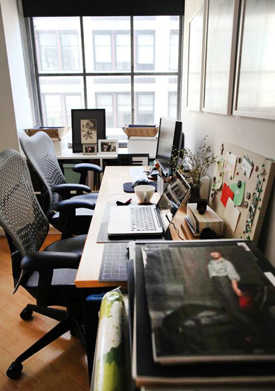 Great Examples of Home Offices For Two | Home office decor ... on modern office design examples, small living room examples, small bathroom examples, small bedroom examples, kitchen design examples, small project management examples, dining room design examples,