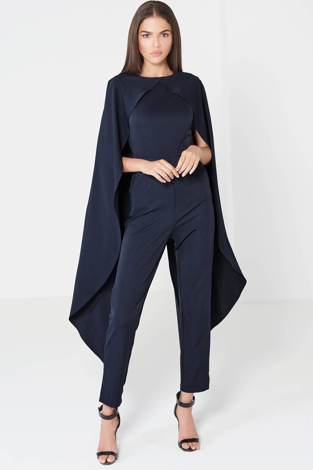 0cd34ef4420 TOPSHOP Cape Jumpsuit by Lavish Alice