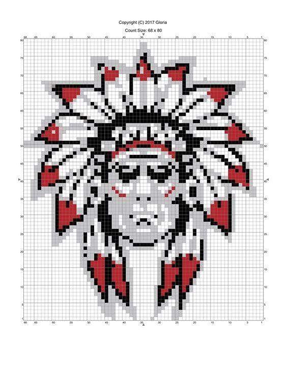 Pin von Siska W W auf motifs tapestry 2 | Pinterest | Muster und Häkeln