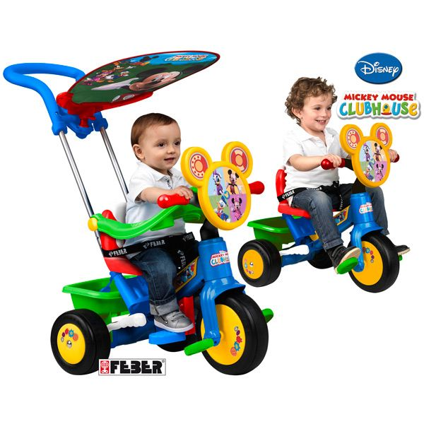 Mickey Mouse Tricycle Triciclos Para Niños Tricicleta Mickey Mouse