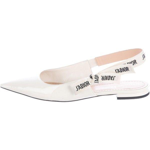678beff555 Pre-owned Christian Dior 2017 J'adior Slingback Flats (1 046 325 LBP ...