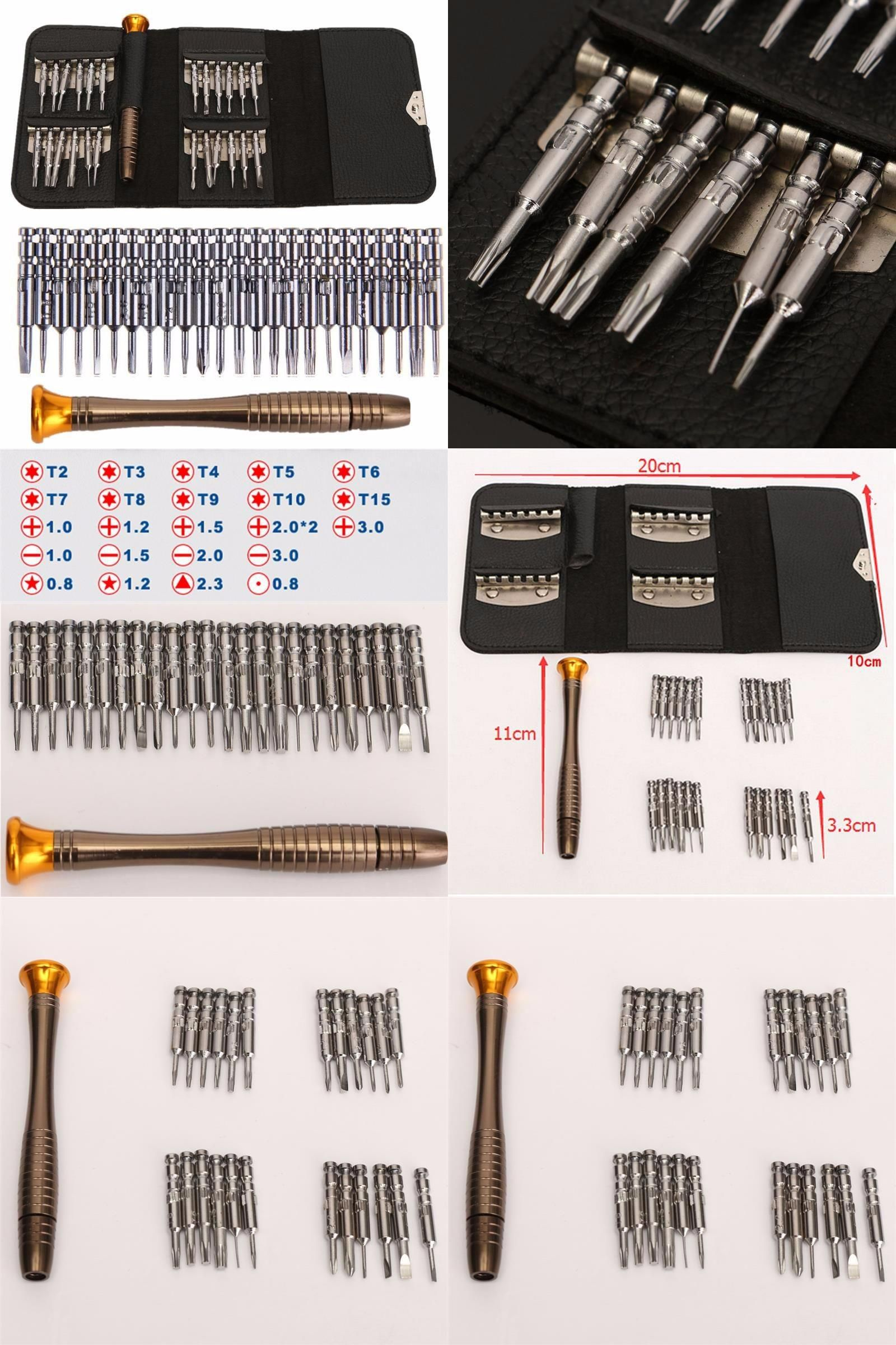 25 in 1 Precision Torx Screwdriver for Phone Laptop Cellphone