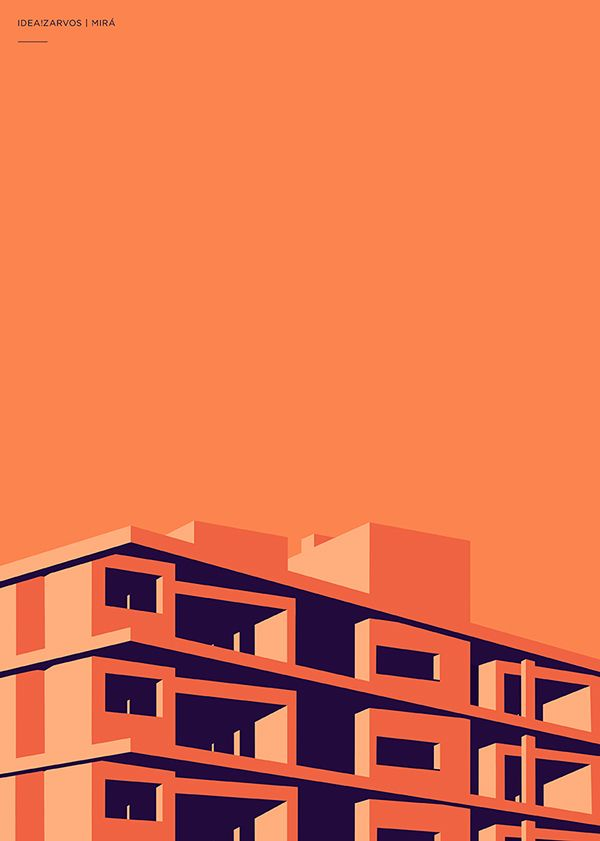 Idea Zarvos Architecture Posters Abduzeedo Design Inspiration