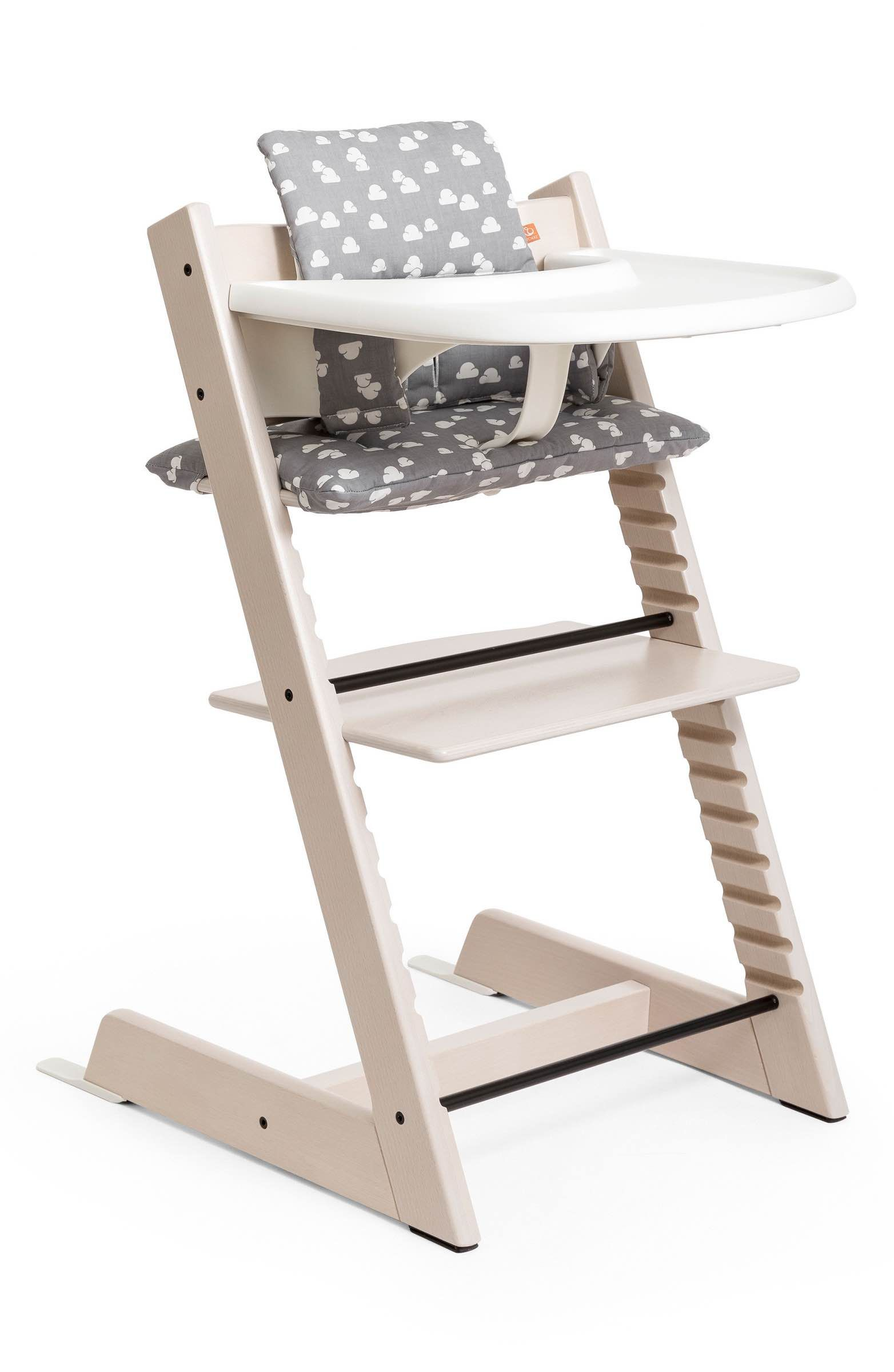 Main Image Stokke Tripp Trapp Chair Baby Set Cushion Tray Set Nordstrom Exclusive Wooden Baby High Chair Tripp Trapp Chair Stokke Tripp Trapp