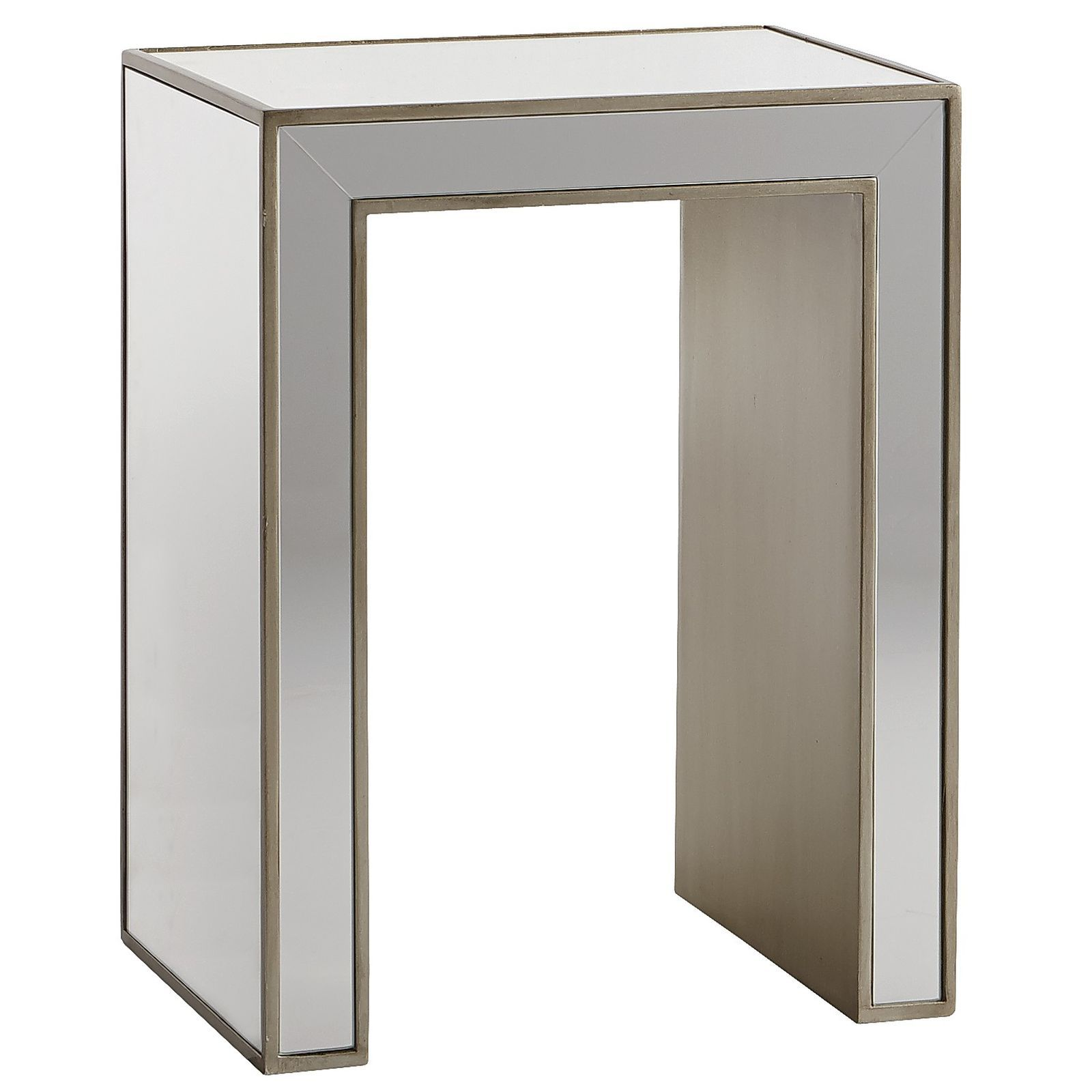 Alexa Mirrored End Table   Pier 1 Imports