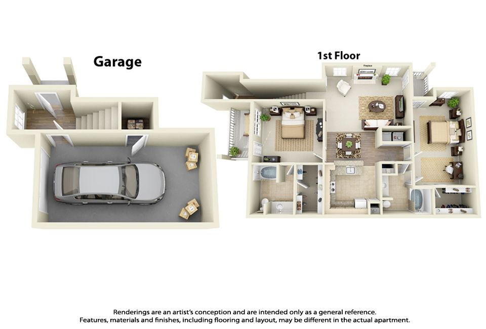 3d Apartment Floor Plans Interactive Floorplans Apartment Floor Plans Sims House Design Two Bedroom Floor Plan