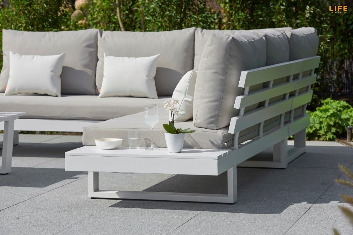 Super Ibiza Lounge White Life Outdoor Living In 2019 Buiten Theyellowbook Wood Chair Design Ideas Theyellowbookinfo