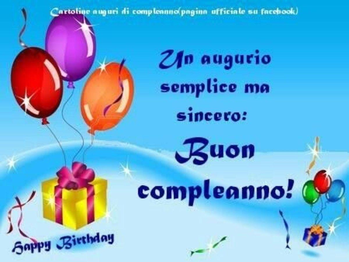 Frasi Di Buon Compleanno Gratis Buongiornoate It Buon Compleanno Compleanno Auguri Di Buon Compleanno
