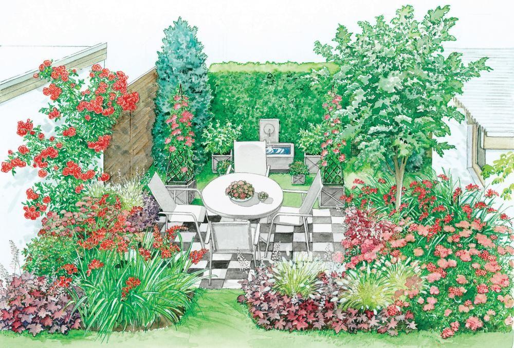 1 Garten 2 Ideen Fur Einen Mini Garten Mini Garten Garten Garten Gestalten
