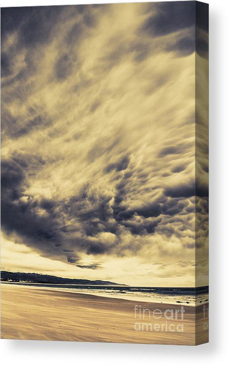 Hurricane Canvas Print featuring the photo Storms Formation by Jorgo ...