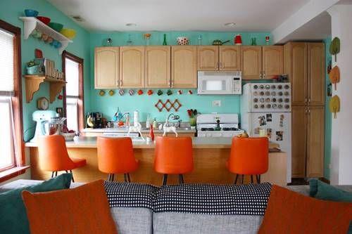 Una casa con decoración retro llena de detalles sorprendentes 1 ...