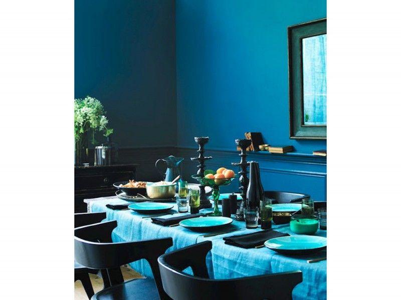 4 Arredare Con Il Colore Ottanio Interior Design Sala Da Pranzo