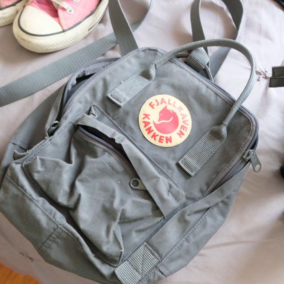b17c616940b1 Mini backpack (DM FOR MORE INFO) - Depop