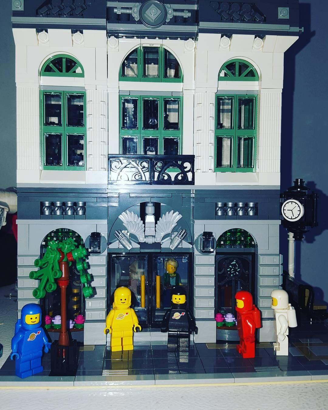 Busy day at the brick bank #legominifigs #brickfan #bricklinkseller #bricklink #legostagram #brick_vision #legocollection #modular #afol #legos #minifigures #lego #classicspace #legophotography by londux