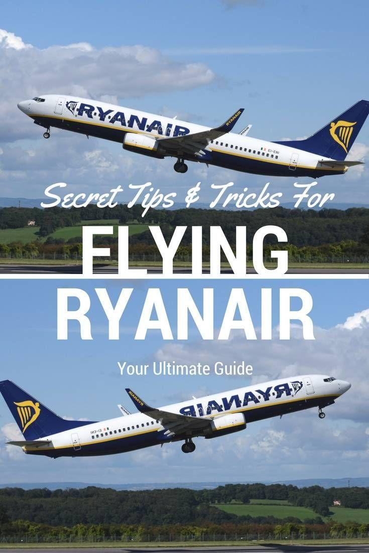 Secret Tips and Tricks For Flying Ryanair Travel, Europe