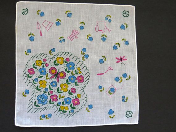 1970s Girl Scout Handkerchief Brownie Girl Scout by shopgirls4