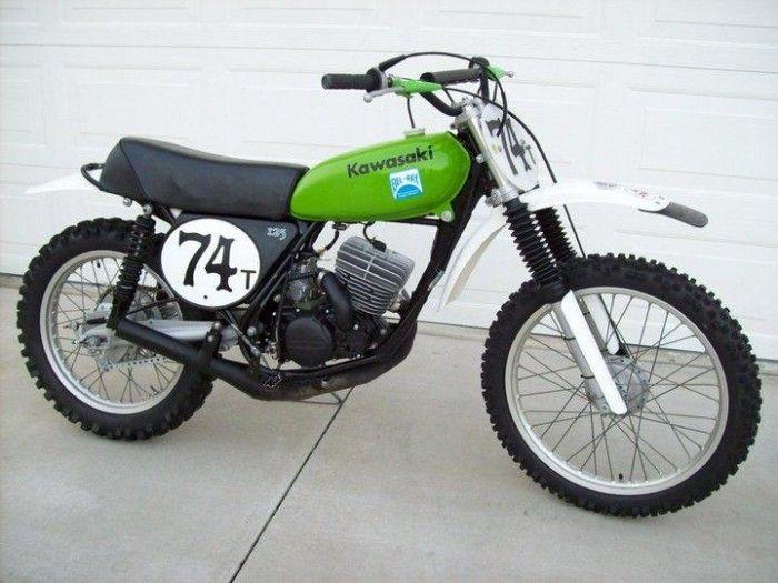 pete wright kawasaki kx 125 cc 1974 motos oficiales mx. Black Bedroom Furniture Sets. Home Design Ideas