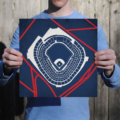 Yankee® Stadium | City Prints Map Art