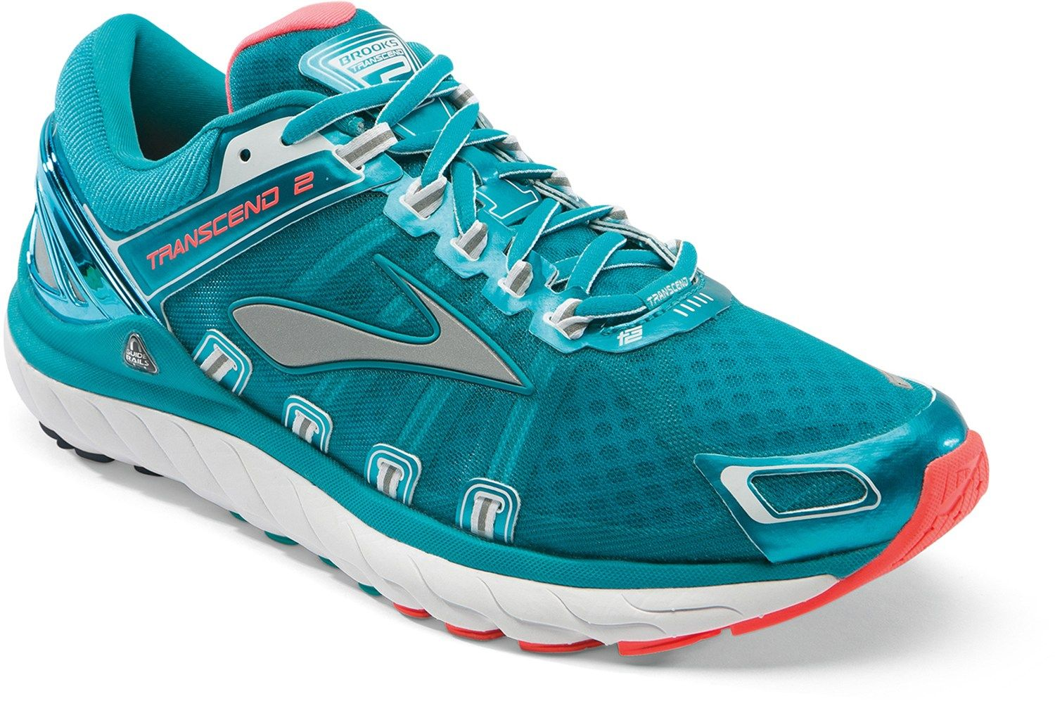 official photos c2254 0ac1c The women s Transcend 2 Road-Running Shoes offer plush comfort, flawless  heel-to
