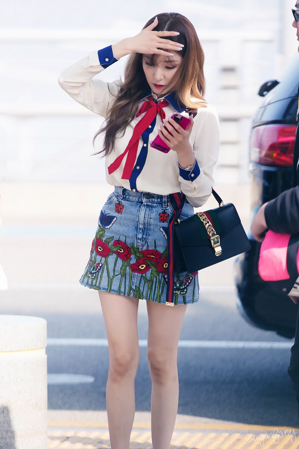 snsd tiffany airport fashion style snsd airport fashion