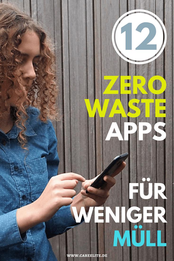 Zero Waste Apps für ein plastikfreies & müllfreies Leben | CareElite