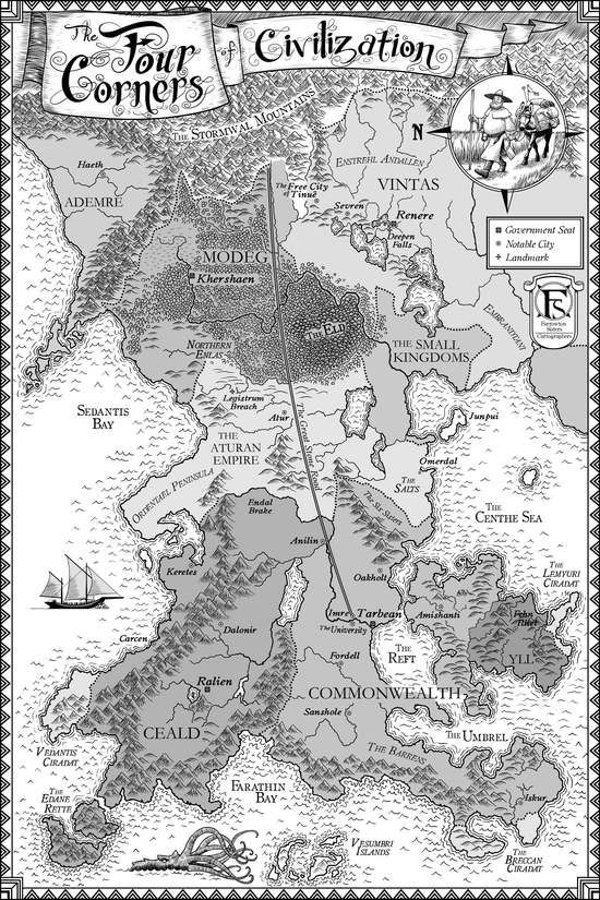 Name Of The Wind Map Image result for The name in the wind map | Fantasy world map