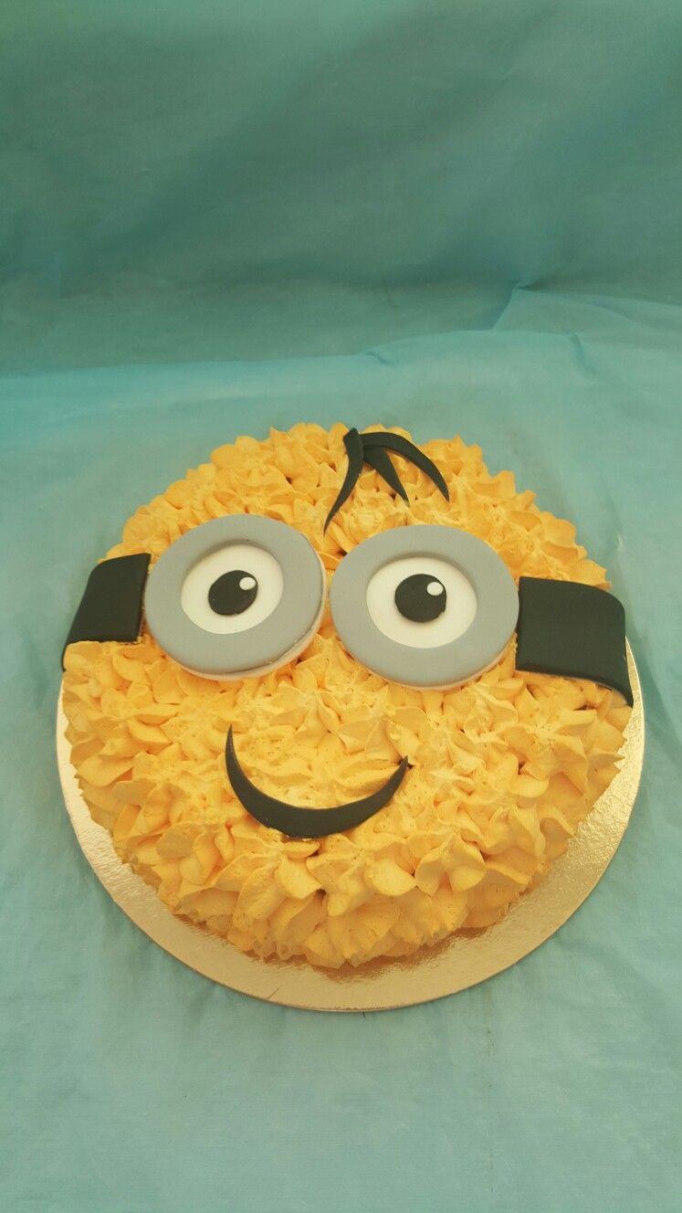 Torta panna minions